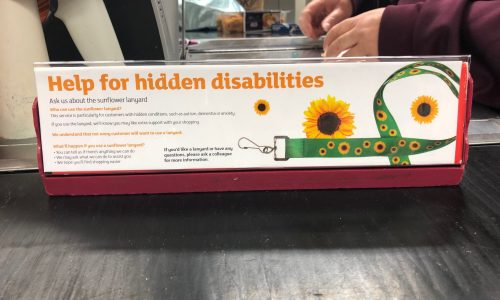Sunflower-notice-in-supermarket