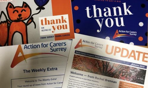 Action for Carers Surrey newsletters