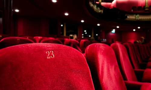 theatre seats-red