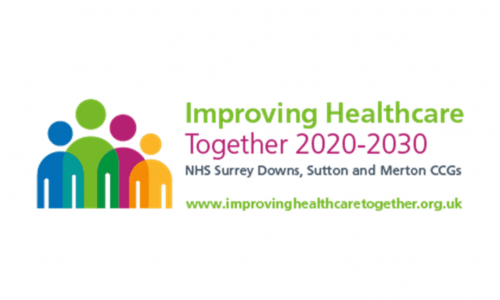 Improving healthcare together logo