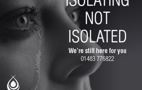 Domestic Abuse support number 01483 776 822