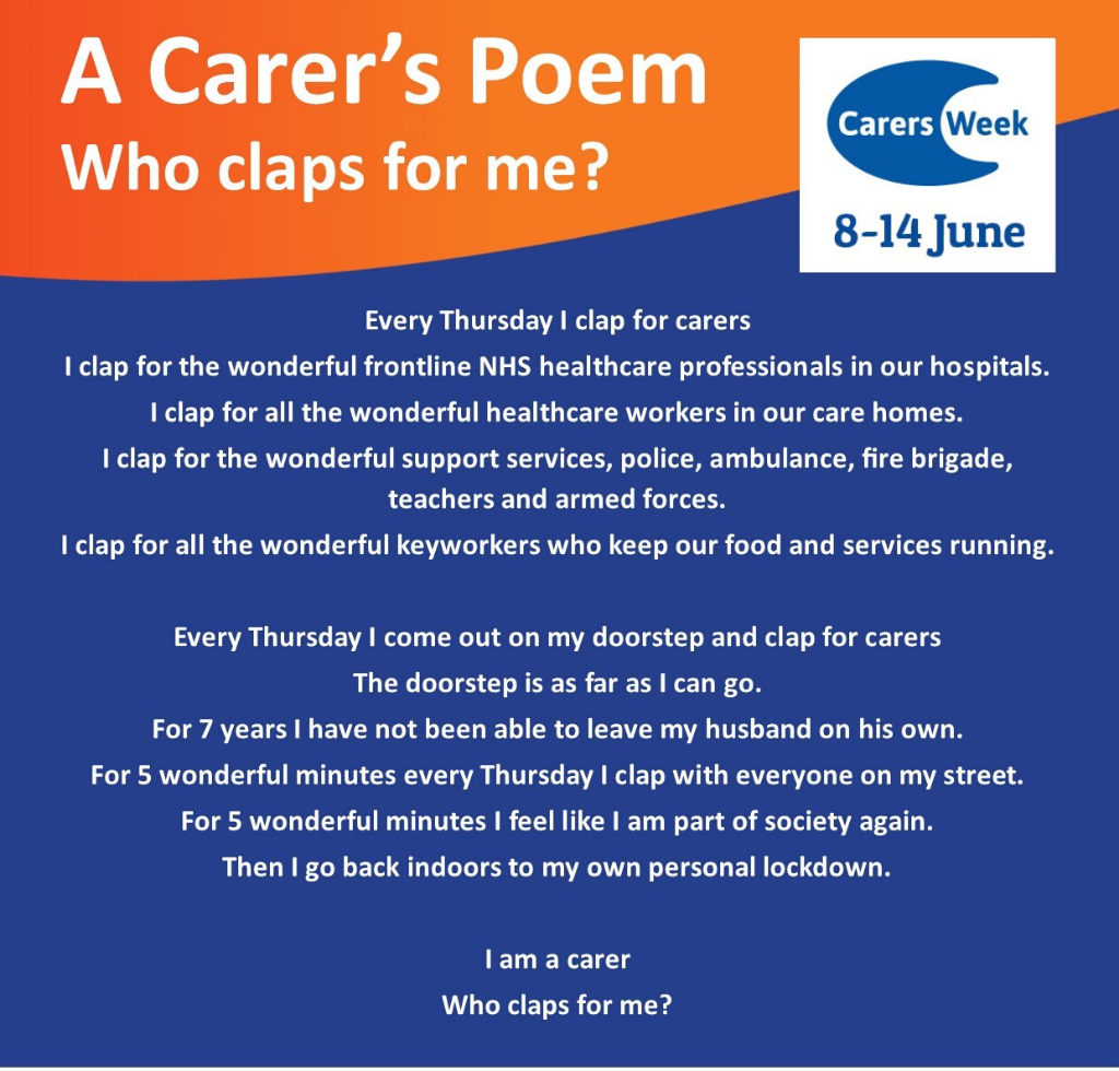 Poem entitled Who claps for me?