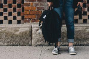 teenager feet and legs