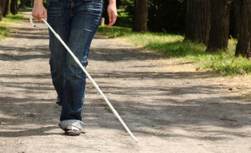 Visually-impaired-person-walking