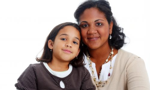 Young-girl-carer-with-mum