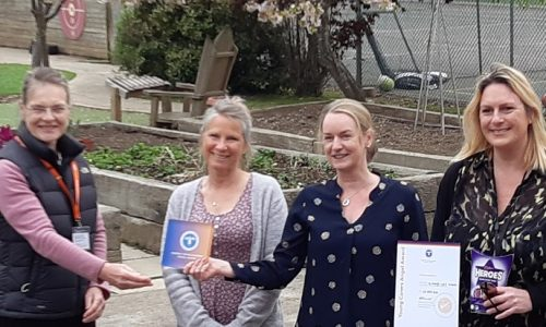 St Marys celebrate Angel Award