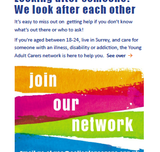 Young Adult Carer Flyer